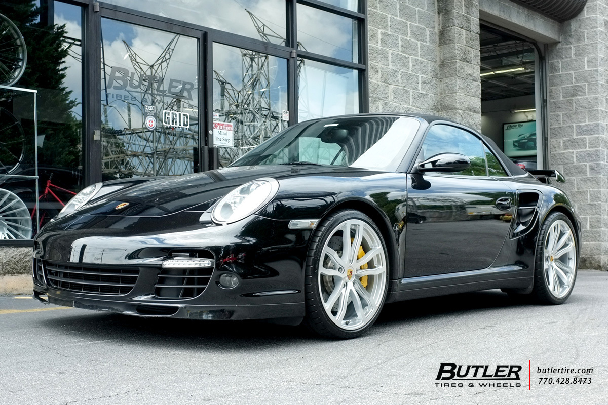 Porsche 911 Turbo With 20in Victor Endurance Wheels