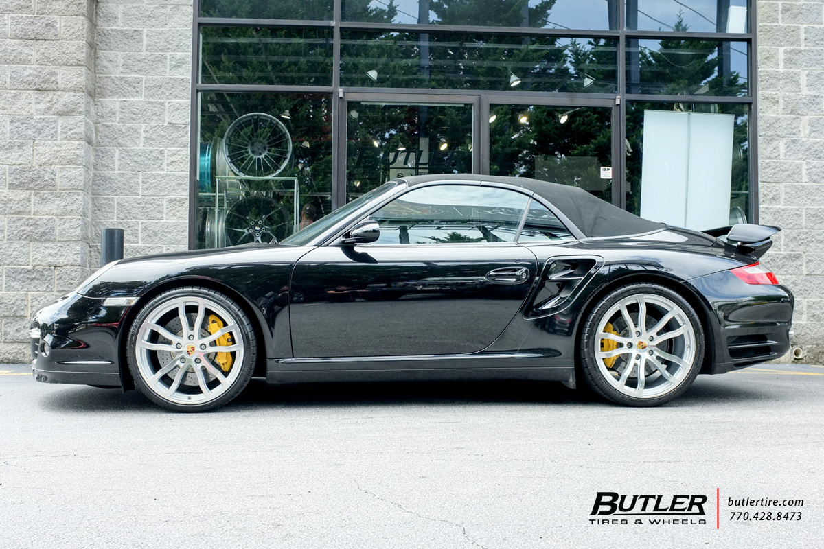 porsche 911 turbo with 20in victor endurance wheels. Black Bedroom Furniture Sets. Home Design Ideas