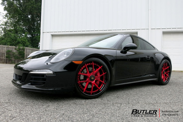 Porsche 991 - 911 Carrera GTS with 21in Savini BM14L Wheels