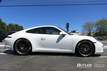 Porsche 991 - 911 Carrera S with 20in HRE FF15 Wheels