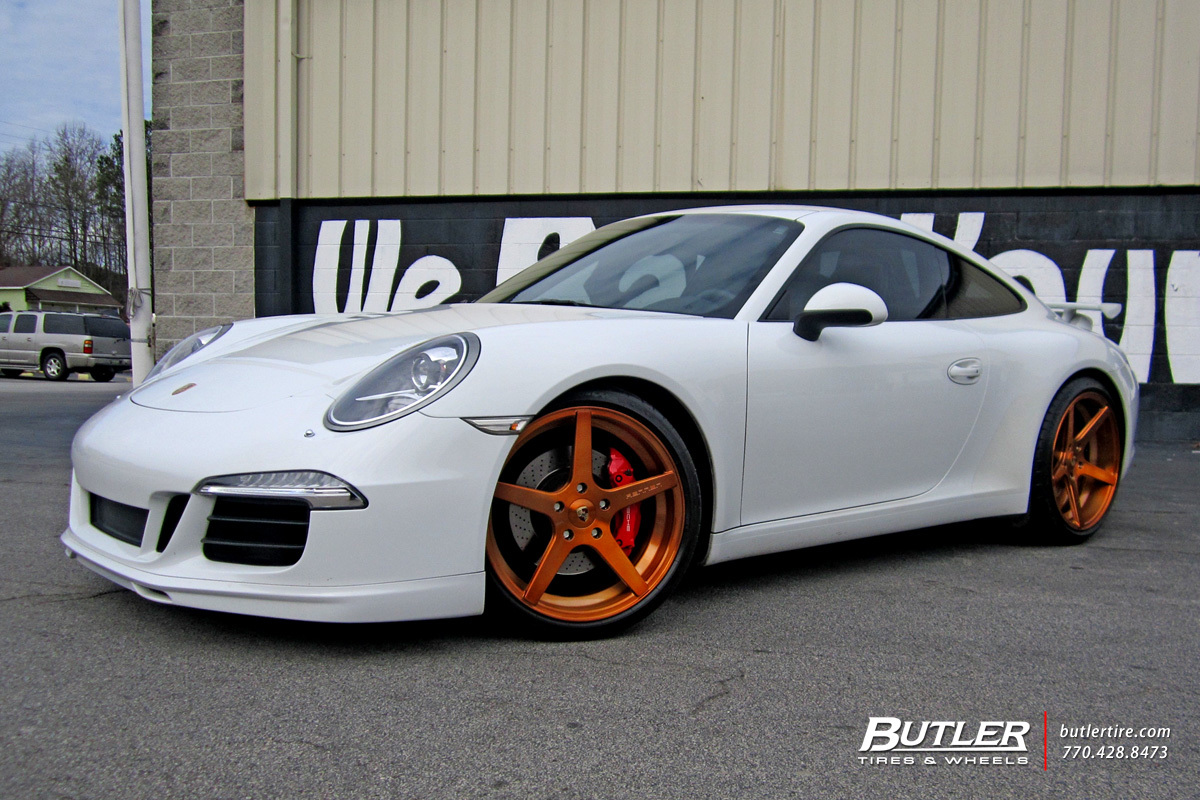porsche 991 911 carrera s with 20in rennen r5 wheels. Black Bedroom Furniture Sets. Home Design Ideas