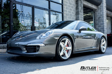 Porsche 991 - 911 Carrera S with 20in Victor Baden Wheels