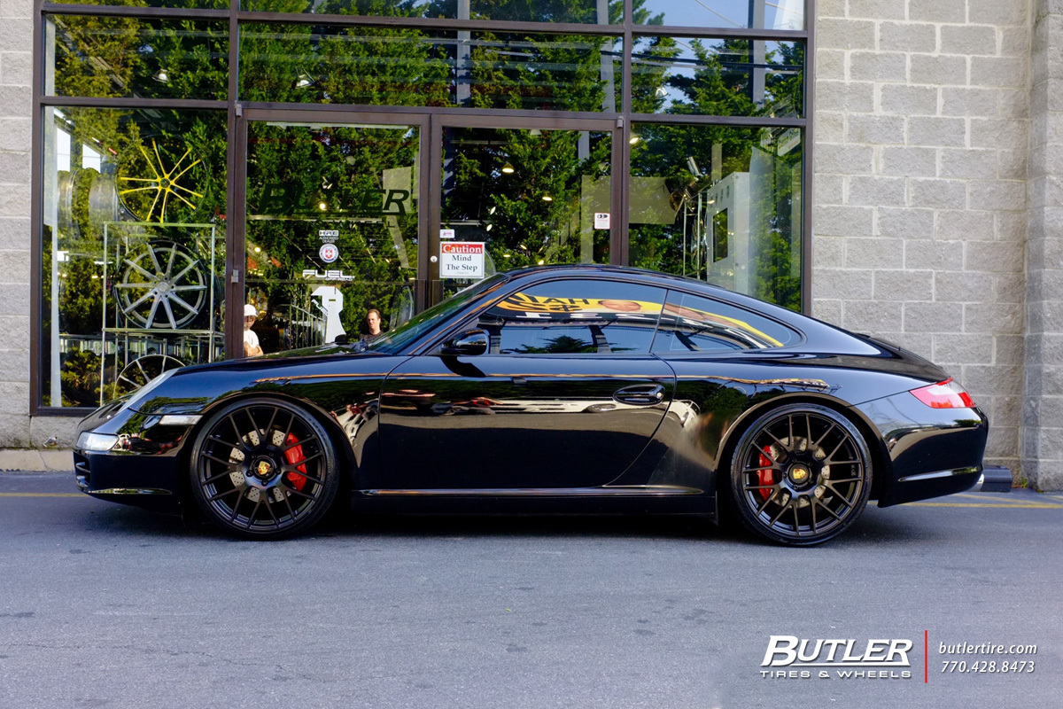 Porsche 991 - 911 Carrera S with 20in Victor Innsbruck Wheels