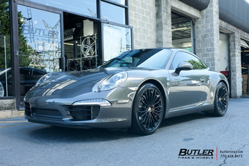 Porsche 991 - 911 Carrera S with 20in Victor Wurttemburg Wheels