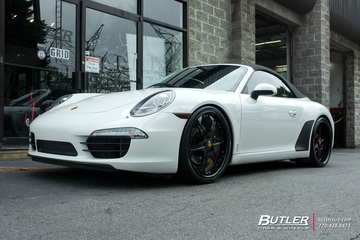 Porsche 991 - 911 Carrera S with 21in Forgiato Sporcizia Wheels