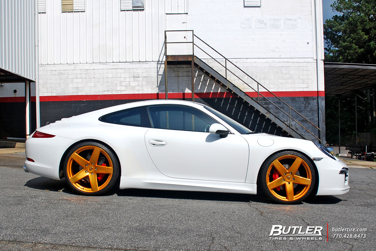 Porsche 991 - 911 Carrera S with 21in Victor Baden Wheels