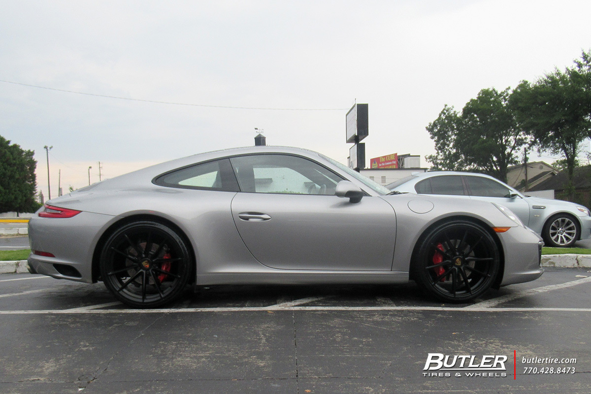 Porsche 991 - 911 Carrera S with 21in Victor Zuffen Wheels
