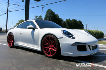 Porsche 991 - 911 Carrera S with 21in Vossen VPS-315 Wheels