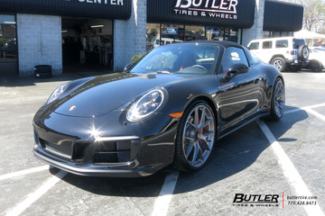 Porsche 991 - 911 Targa 4 GTS with 21in HRE P101 Wheels