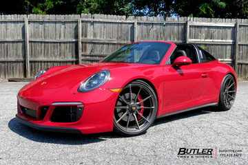 Porsche 991 - 911 Targa 4 GTS with 21in Vossen M-X2 Wheels