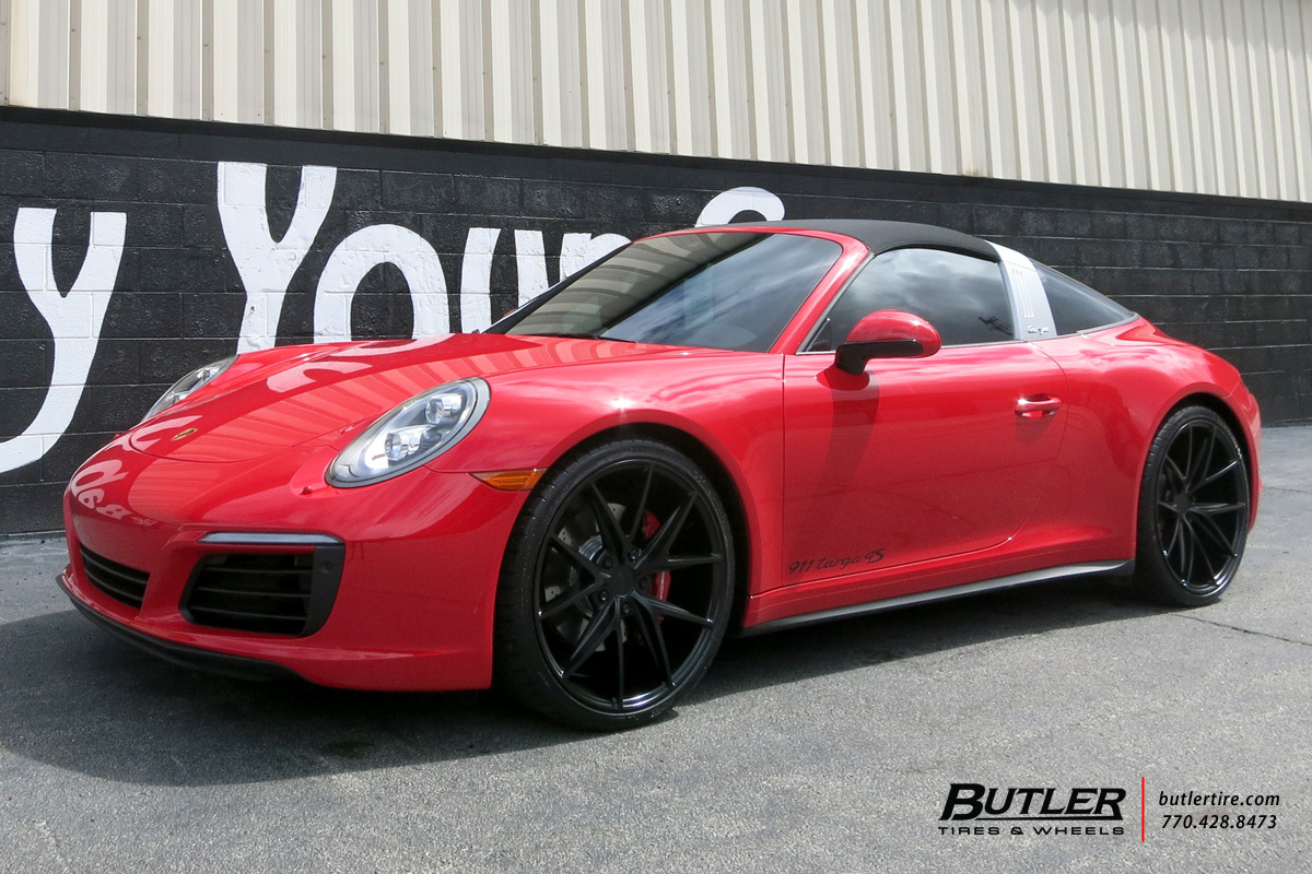 Porsche 991 - 911 Targa 4s with 20in Niche Misano Wheels
