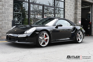 Porsche 991 - 911 Turbo with 20in Formula 5 Wheels