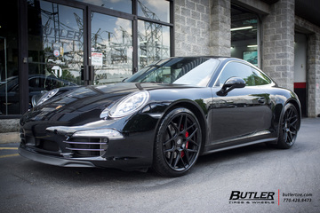 Porsche 991 - Carrera with 20in HRE FF01 Wheels