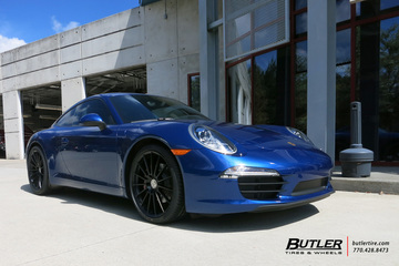 Porsche 991 - Carrera with 20in HRE FF15 Wheels