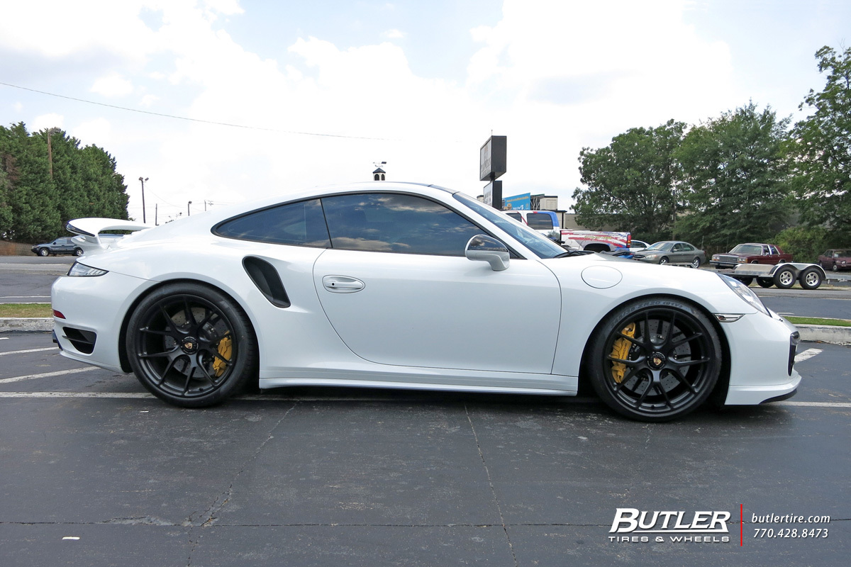 Porsche 991 Turbo S With 20in Hre P101 Wheels