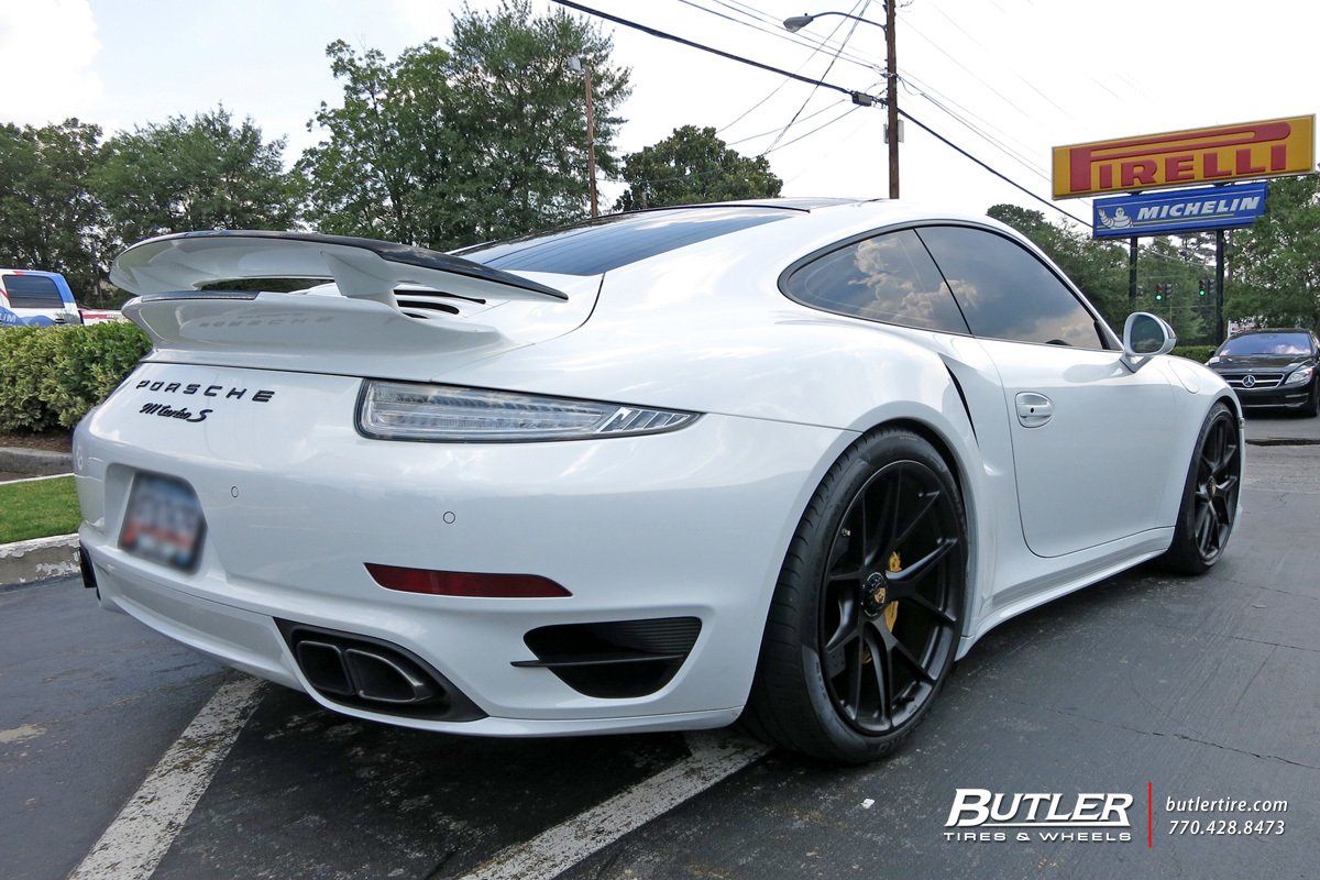 Porsche 991 - Turbo S with 20in HRE P101 Wheels