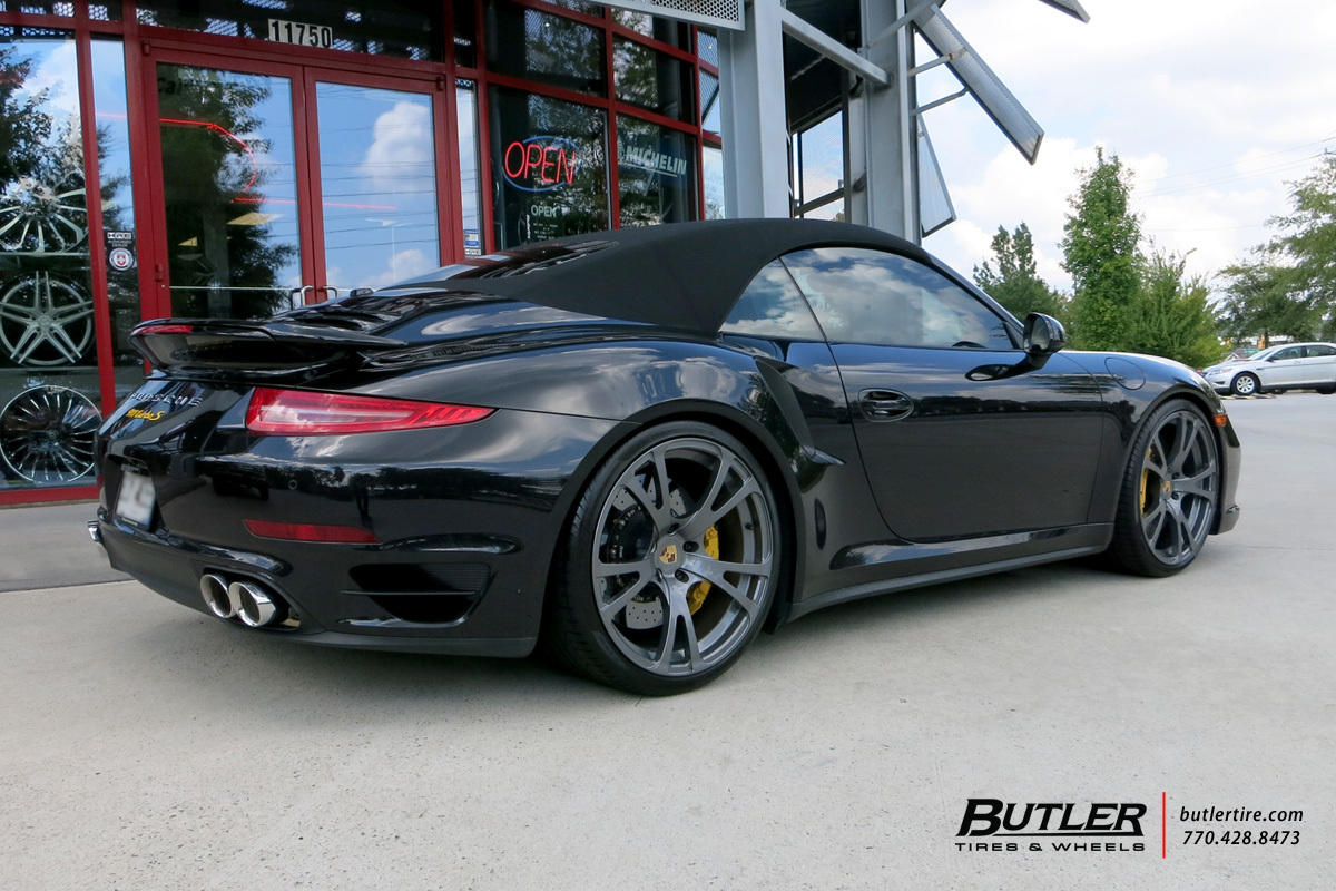 Porsche 991 - Turbo S with 21in Butler Frankfurt Wheels