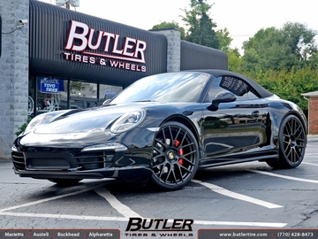Porsche 991 - 911 Carrera 4s with 22in Victor Innsbruck Wheels