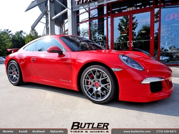 Porsche 991 - 911 Carrera S with 19in BBS Ch-R Wheels