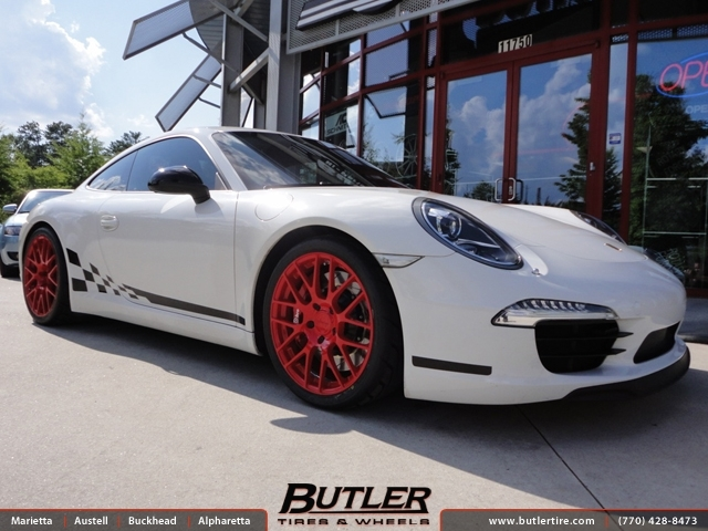 Porsche 991 - 911 Carrera S with 19in Victor Innsbruck Wheels