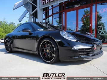 Porsche 991 - 911 Carrera S with 20in BBS Ch-R Wheels