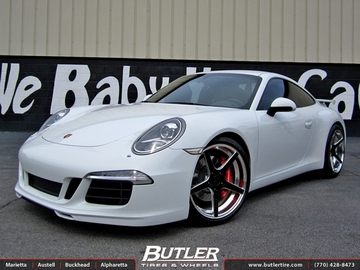 Porsche 991 - 911 Carrera S with 20in Rennen R5 Wheels
