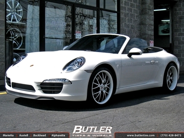 Porsche 991 - Carrera with 20in Kinesis K108 Wheels