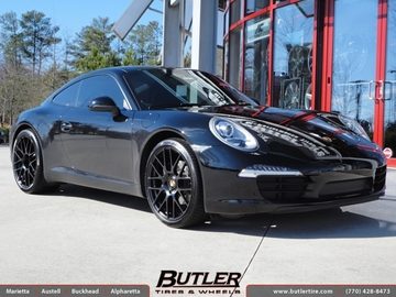 Porsche 991 - Carrera with 20in Victor Innsbruck Wheels