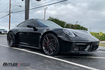 Porsche 992 - 911 Carrera 4S with 22in AG Luxury AGL58 Wheels