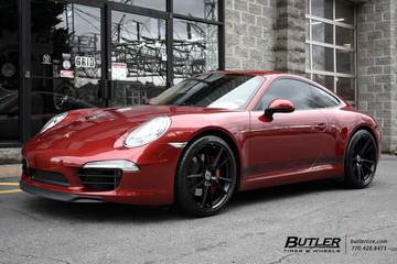 Porsche 992 - 911 Carrera S with 20in HRE FF04 Wheels