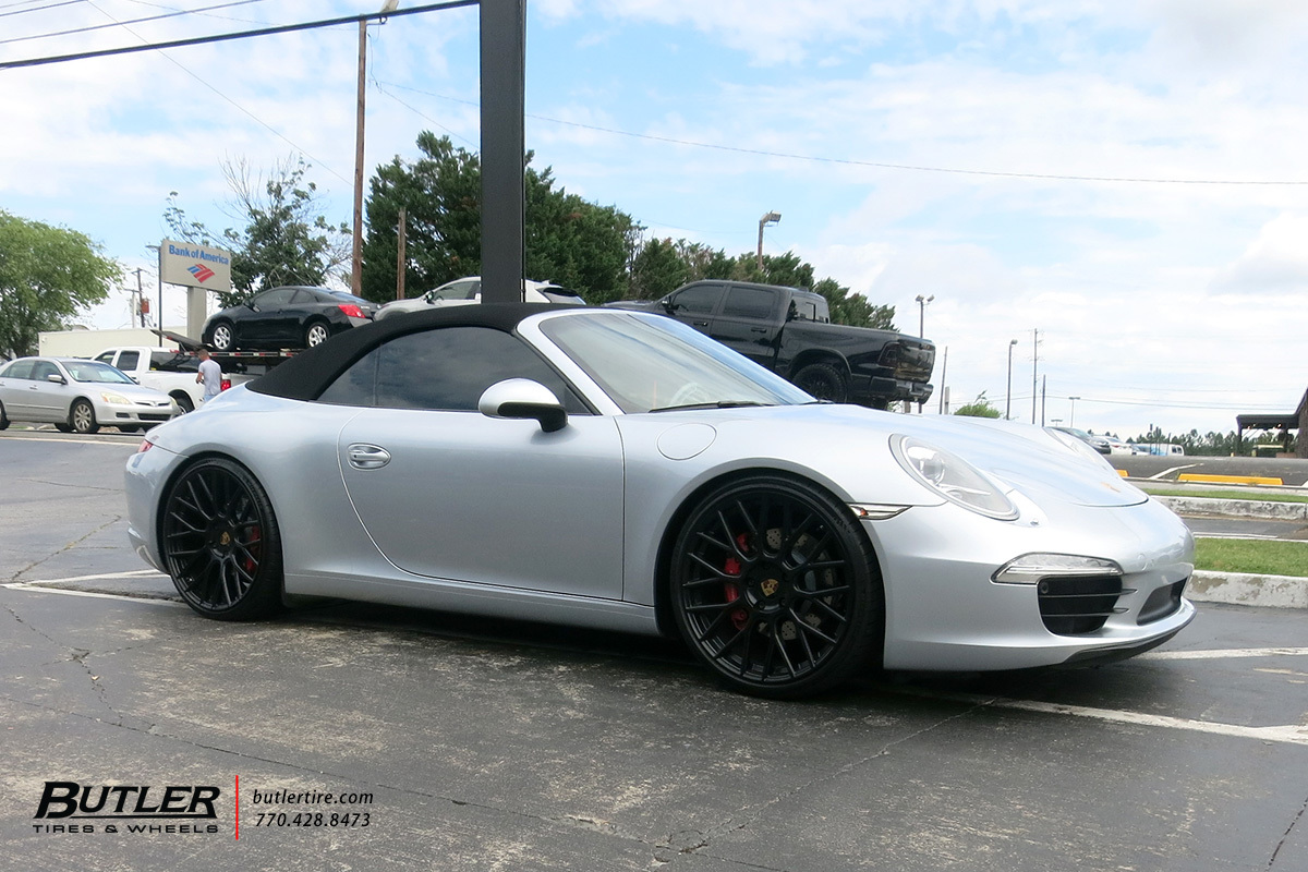 Porsche 992 - 911 Carrera S with 21in Victor Stabil Wheels