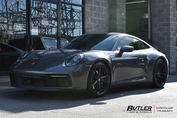 Porsche 992 - 911 Carrera S with 21in Victor Zuffen Wheels
