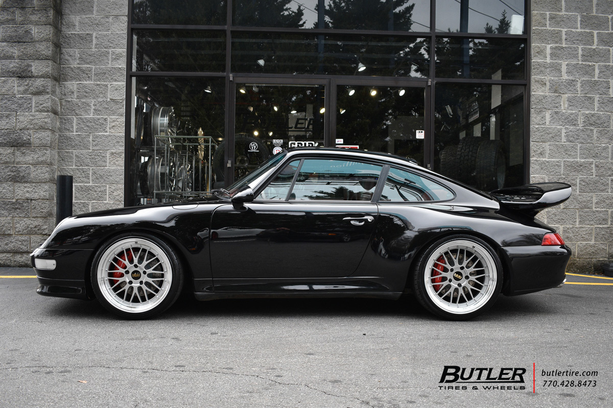 Porsche 993 - Carrera 4S with 19in BBS LM Wheels ...