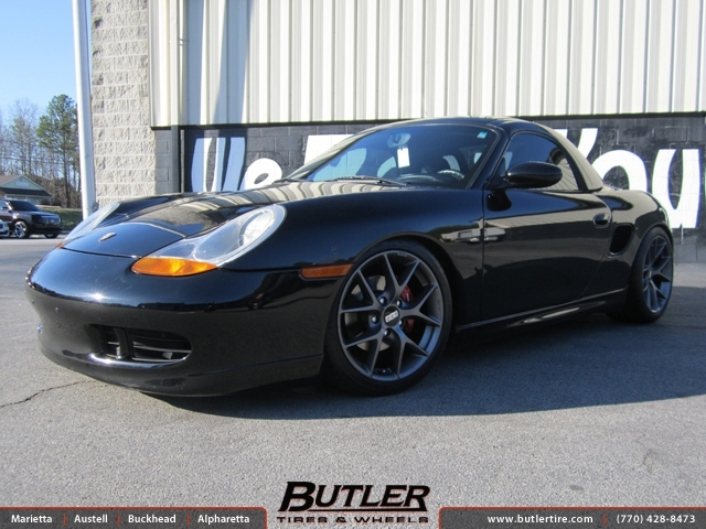 Porsche Boxster with 18in BBS S02 Wheels
