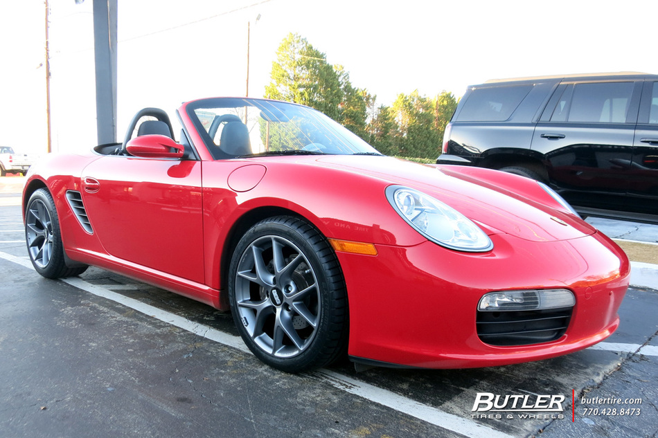 Porsche Boxster with 18in BBS SR Wheels exclusively from Butler Tires and Wheels in Atlanta, GA ...