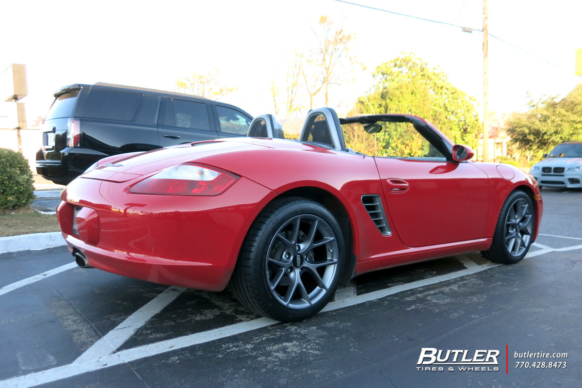 Porsche Boxster with 18in BBS SR Wheels