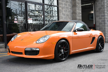 Porsche Boxster with 19in HRE FF01 Wheels