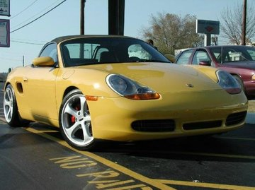 Porsche Boxster with 19in Techart Formula Wheels