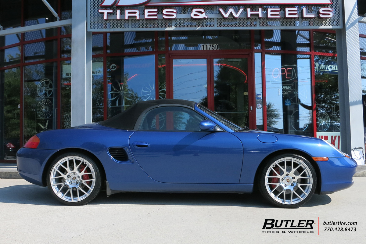 Porsche Boxster with 19in Victor Innsbruck Wheels