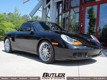 Porsche Boxster with 19in Victor Lemans Wheels