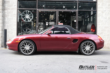 Porsche Boxster with 19in Victor Stabil Wheels