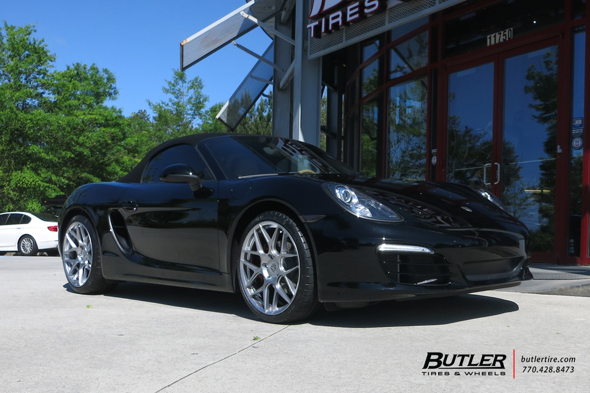 Porsche Boxster with 20in HRE FF01 Wheels