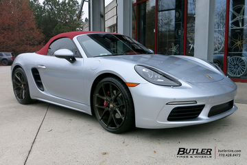 Porsche Boxster with 20in Savini BM14 Wheels