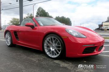 Porsche Boxster with 20in Victor Innsbruck Wheels