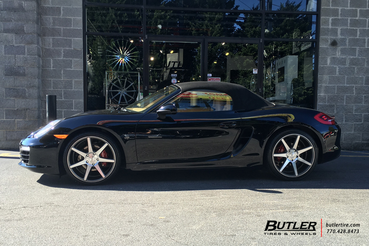 Porsche Boxster with 20in Vossen CV7 Wheels