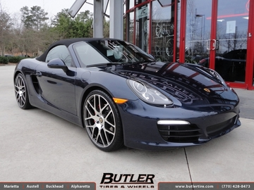 Porsche Boxster with 21in TSW Nurburgring Wheels