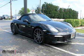 Porsche Boxster with 21in Vossen MX-3 Wheels