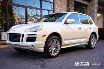 Porsche Cayenne with 20in TSW Gatsby Wheels