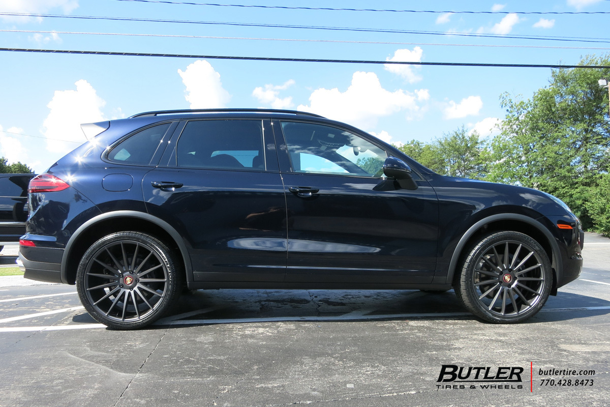 Porsche Cayenne With 22in Niche Form Wheels Exclusively From Butler Tires And Wheels In Atlanta Ga Image Number 9795