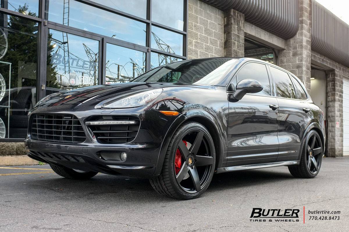 Porsche Cayenne with 22in Victor Baden Wheels
